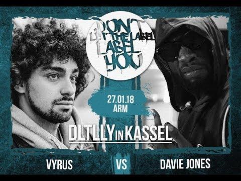 DLTLLY // Rap Battles // Davie Jones VS Vyrus