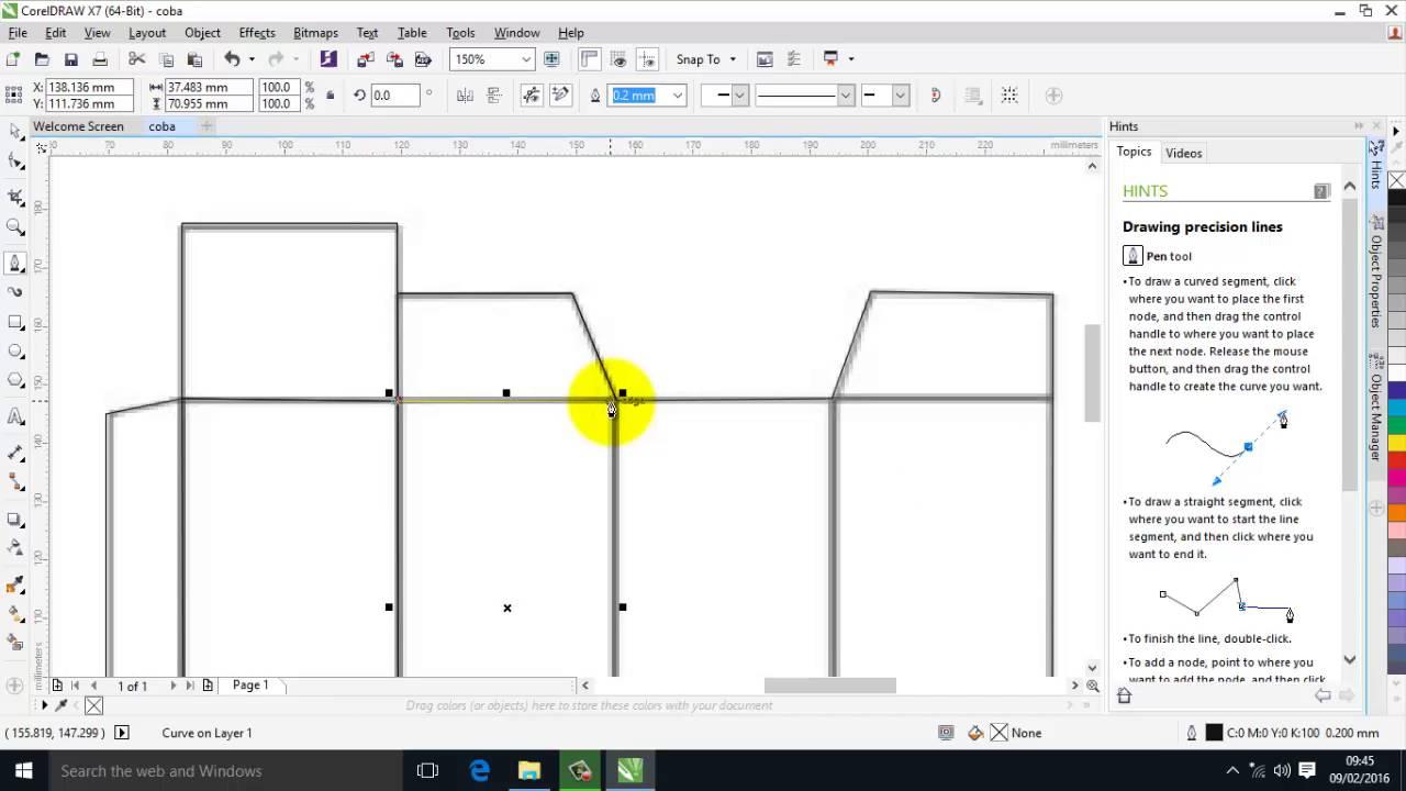 100 Desain Rumah Minimalis Corel Draw