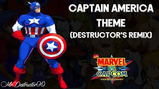 Marvel vs. Capcom - Captain America Theme (Remix)