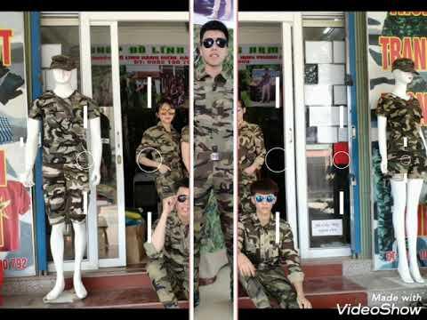 Quần áo thời trang phong cách lính – Phương ArmyA
