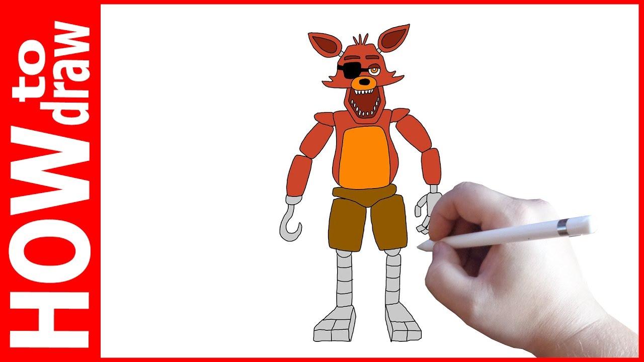 Ютуб как нарисовать фокси