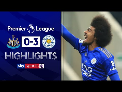 Wonderful Choudhury strike seals win for Leicester | Newcastle 0-3 Leicester | EPL Highlights