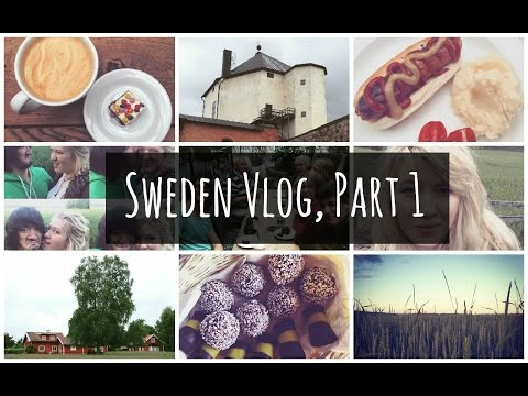Sweden Vlog, Part 1 • Midsummer, Salted Liquorice & Nyköping