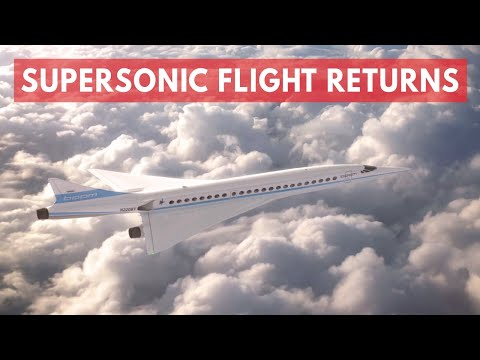 Supersonic air travel could be making a comeback