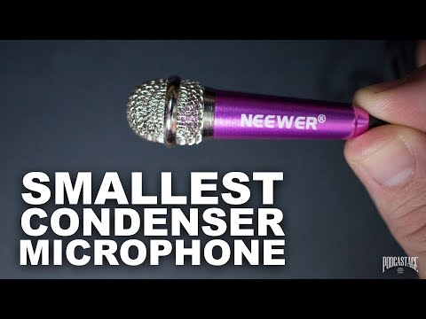 Neewer Mini Condenser Mic Review / Test