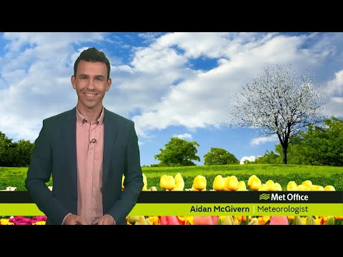 Tuesday afternoon forecast 23/04/19