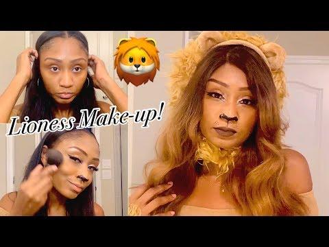 Quick & Cheap Lion 🦁 Halloween Make-up Tutorial! thumbnail