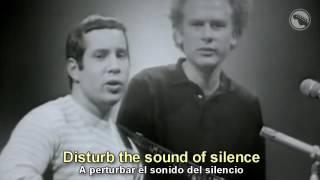 Simon & Garfunkel - The Sounds of Silence - Subtitulado Español & Inglés