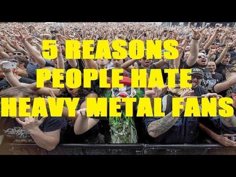 5 Reasons People Hate HEAVY METAL FANS