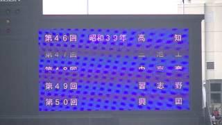 歴代優勝校の紹介 2013年夏 全国高等学校野球選手権 甲子園