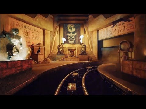 [POV] The Revenge of the Mummy Ride - Universal Studios Orlando