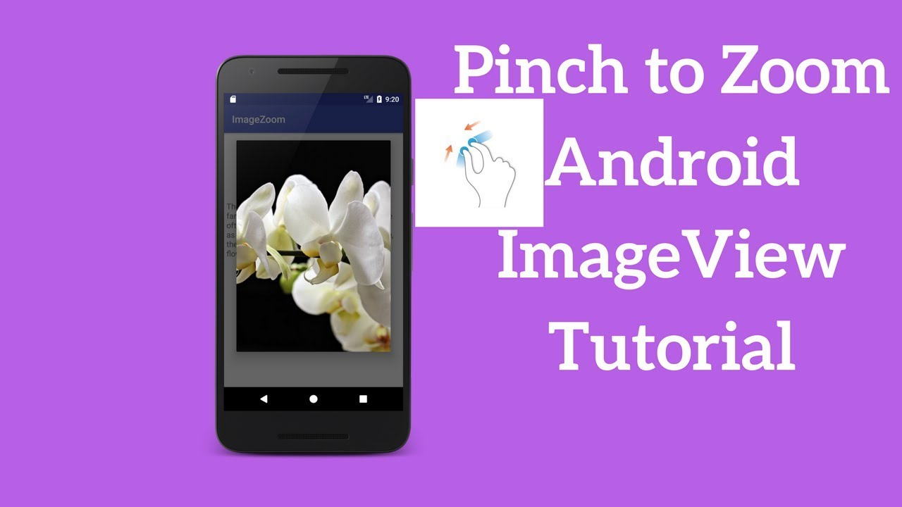 Pinch to Zoom Android ImageView Tutorial - Coding Demos