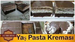 Yaş Pasta Kreması en iyi şekilde nasıl yapılır ? | Yaş Pasta Kreması Tarifi