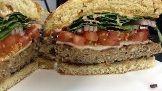 Lemongrass Turkey Burger Banh Mi Turkey (English sub)