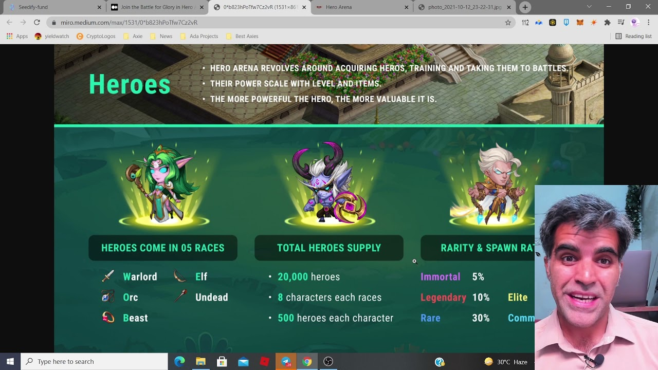 Download Hero Arena BSC Gaming Token IGO on Seedify   Get yoursef Ready