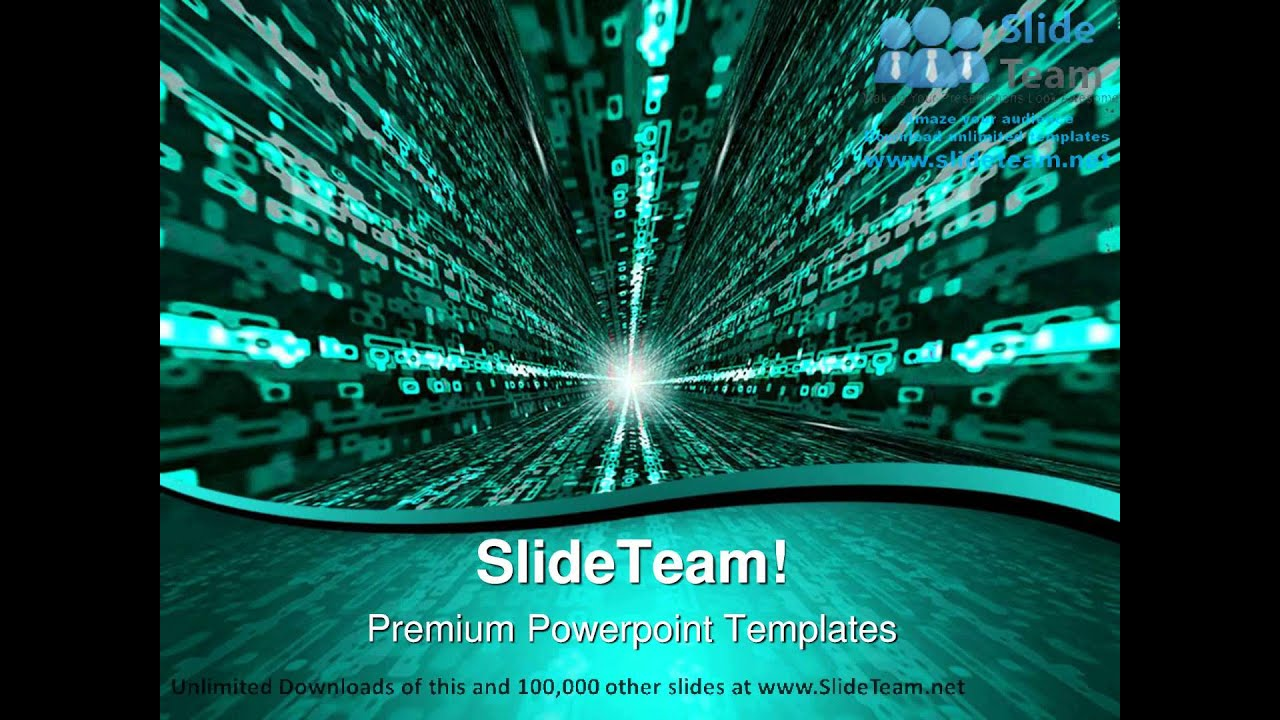 matrix binary background powerpoint templates themes and backgrounds