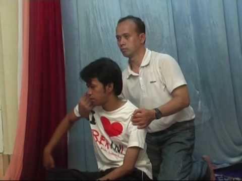 Thai Massage Jakarta, Sitting Position