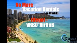WARNING - Illegal Vacation Rentals in Waikiki - You can lose your reservation & your money!