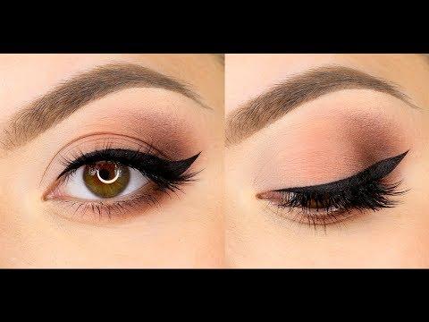 Классический макияж со стрелками