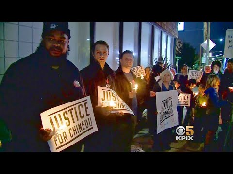 Demonstrators Protest San Mateo County DA Decision Not to Prosecute Deputies for Taser Death