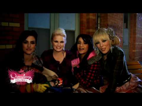 Queensberry making the video I can´t stop feeling new 2009 Popstars just for girls Hq
