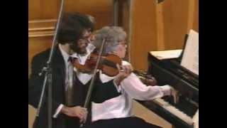 Франк С Соната для скрипки и фортепиано ля мажор FWV 8