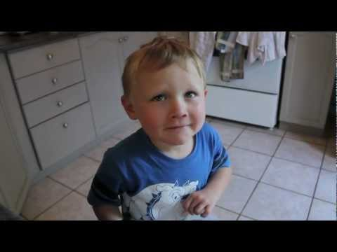 Boy Caught Stealing Cookie From The Cookie Jar