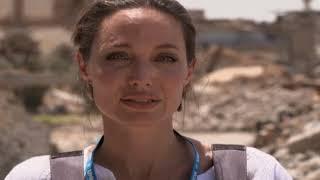 انجلينا جولي من الموصل القديمة: هذا أسوأ دمار شاهدته