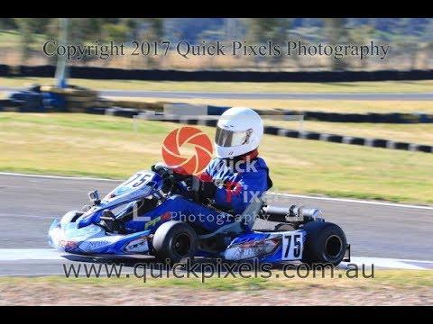 karting race wkrc 30/7/17 picton kart track