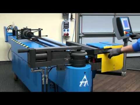 Tubobend 50 Semi Automatic Pipe Bending Machine Youtube