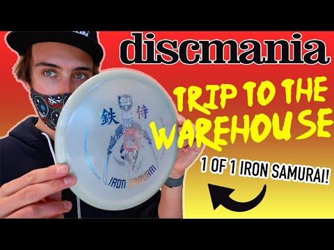 A TRIP TO THE DISCMANIA WAREHOUSE! (Stamping The Sickest MD3 Ever and The Ultimate Mystery Box!)