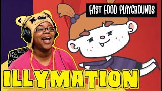 Fast Food Playgrounds by illymation | Storytime Animation Reaction