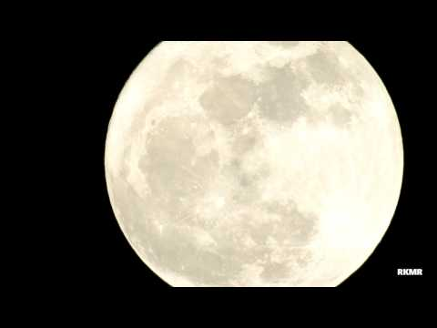 Awesome Super Moon  in UAE.