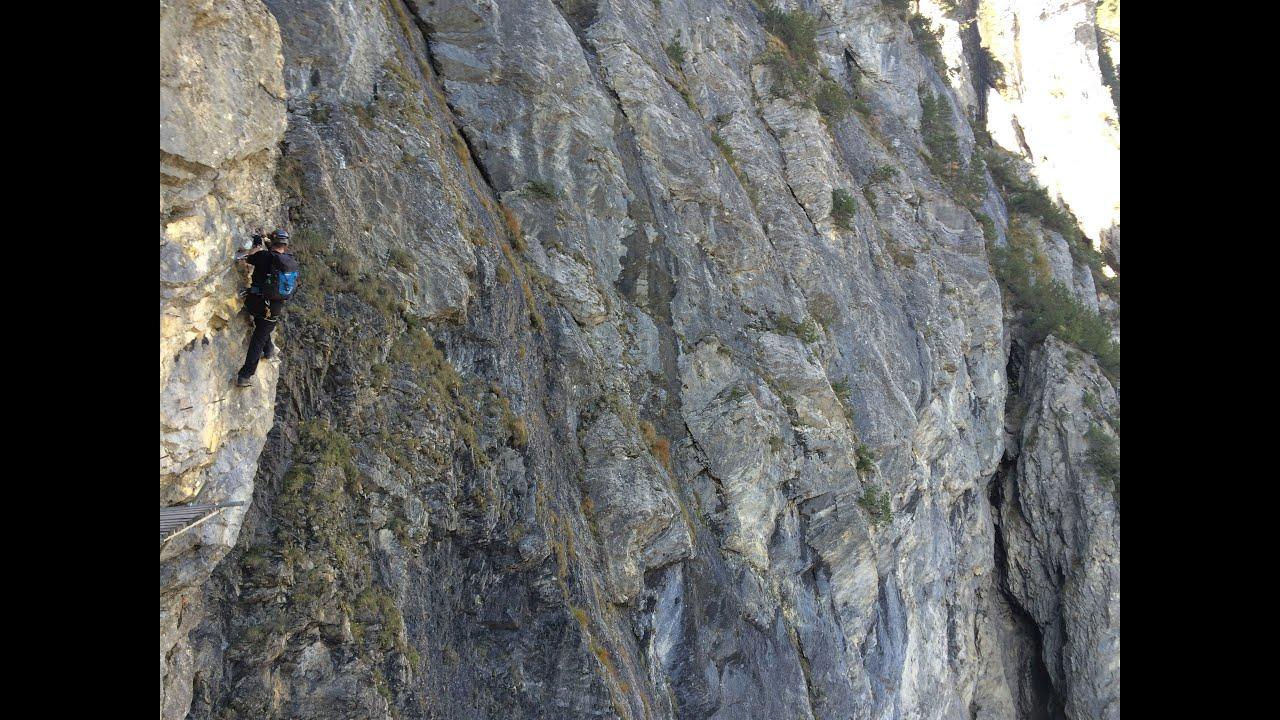 Klettersteig Allmenalp : Klettersteig allmenalp bei kandersteg youtube
