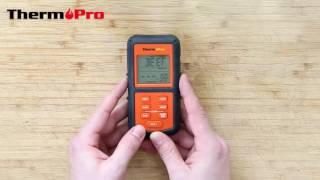 ThermoPro ТП 07 цифровий бездротовий термометр введення