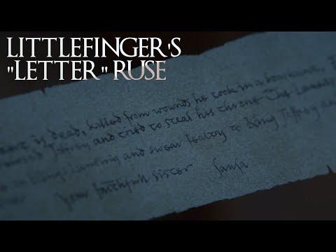 """Littlefinger's """"Letter"""" Ruse"""