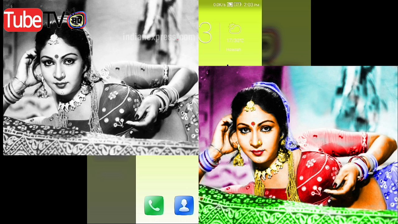 How to colour famus best black and white photo with android app convert b w to color image