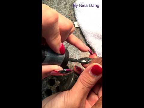 Hương dẫn làm nails cơ bản: Son như thế nào cho đẹp, nhanh?