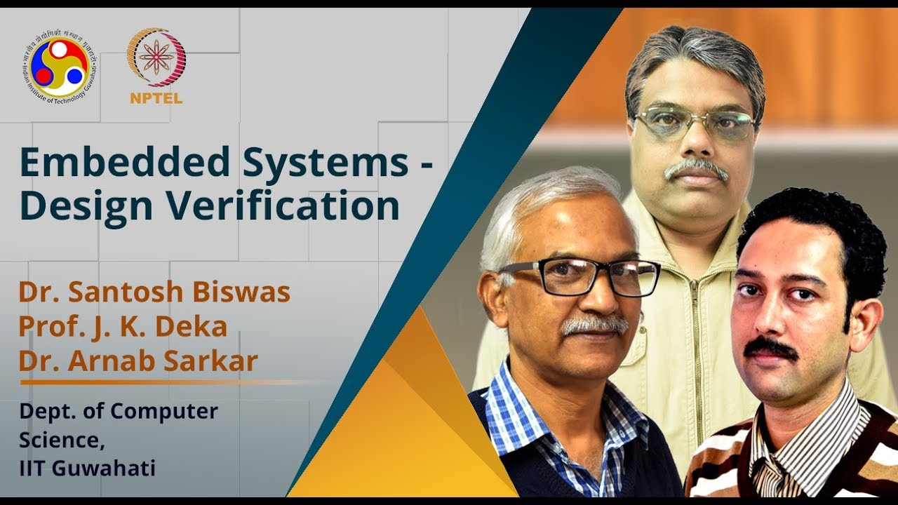 Course Name: Embedded Systems-Design Verification and Test