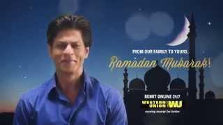 Happy Ramadan from Shahrukh Khan
