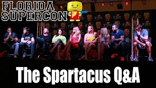 Florida Supercon 2014 Spartacus Cast including Liam McIntyre, Manu Bennett and more