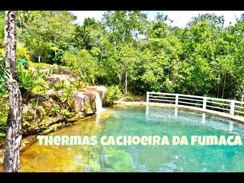 O MELHOR BALNEÁRIO de Mato Grosso - Thermas Cachoeira da Fumaça