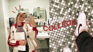 first day of college vlog ~art school edition~