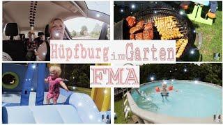 Follow me around   Grillen-Hüpfburg-Schwimmen   Tamii'S Life