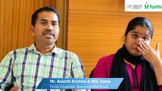 Complications & Recovery of Ectopic Pregnancy - Story of Sonia | Fortis Bangalore