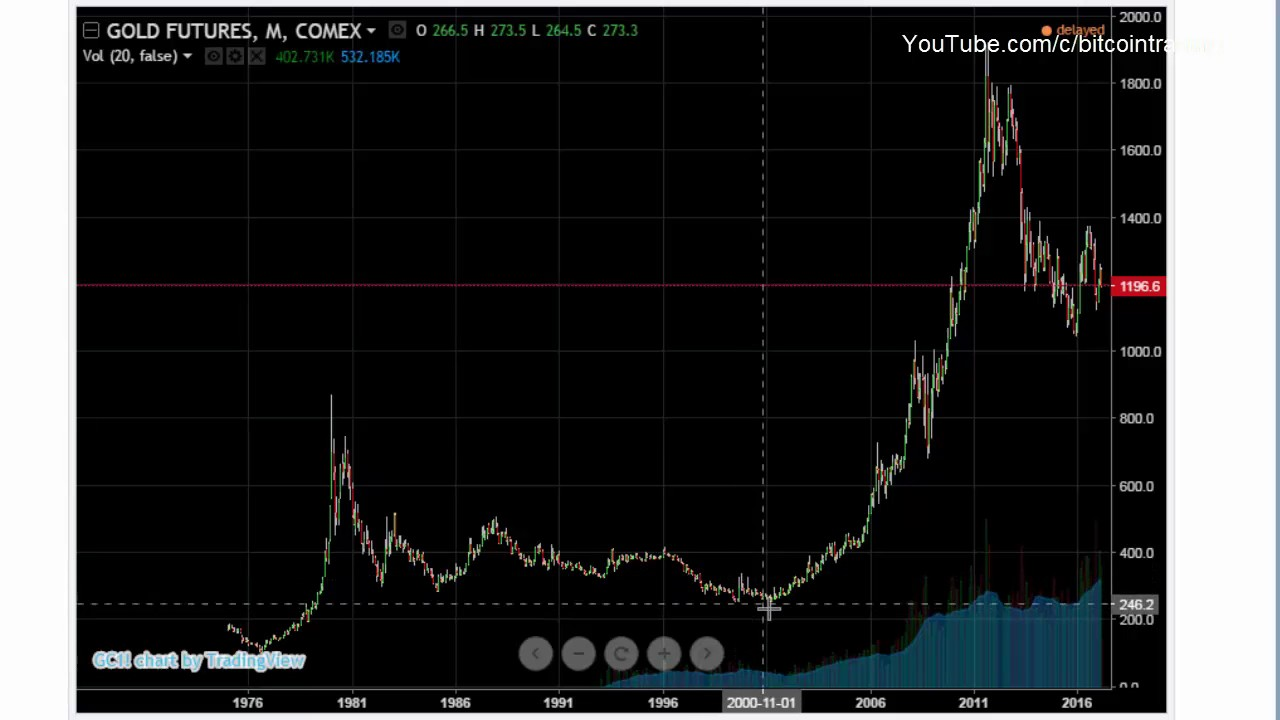 Bitcoin Compared To 30 Year Gold Charts