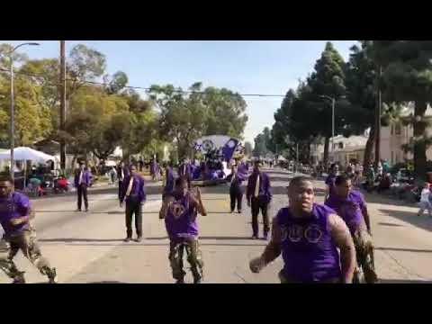 Morningside Highschool Omega Gents at Mlk parade 2018