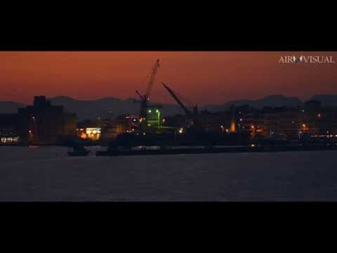 "4k ""PORT OF KALAMATA TIMELAPSE SUNSET"""