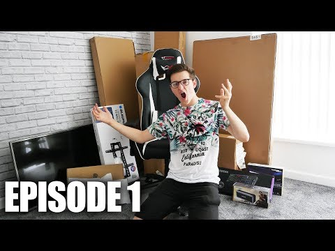 Building My DREAM GAMING/EDITING SETUP for 2018 Part 1: LETS GET THIS STARTED!