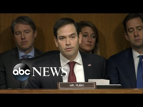 Sen. Marco Rubio Grilled Rex Tillerson at Confirmation Hearing